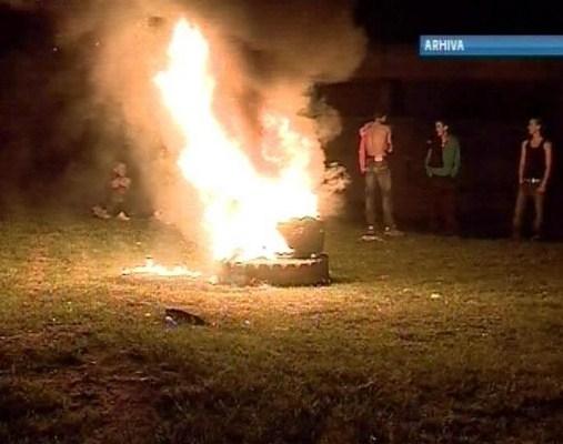 """Fara """"rug"""" in noaptea de Pasti. Arderea anvelopelor este interzisa."""