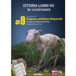 Saiga – antilopa disparuta din fauna Romaniei