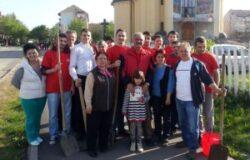 Tinerii Social-Democrati au plantat puieti in cartierul Carpati II din Satu Mare