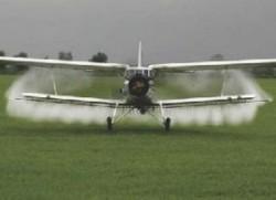 Amenzi usturatoare pentru erbicidarea plantelor cu mijloace aviatice, fara aviz de mediu