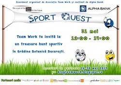 Sport Quest- Team Work: A doua editie!