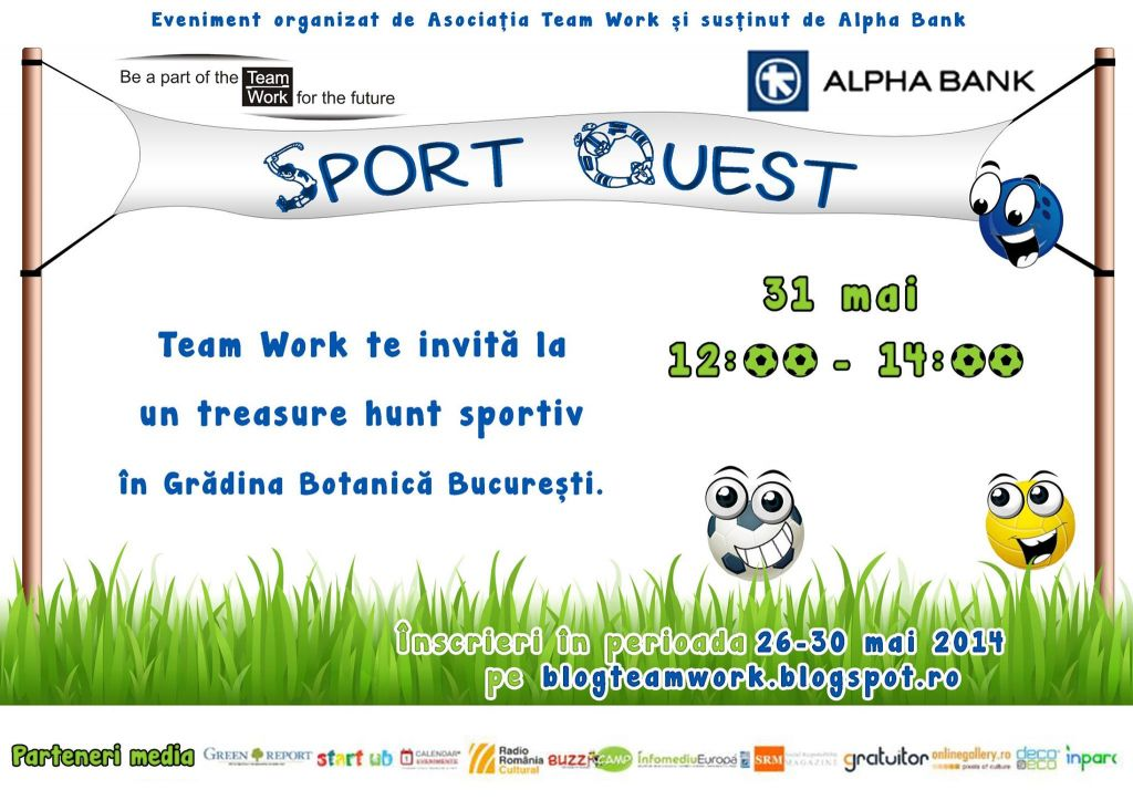 Sport Quest- Team Work: A doua edi?ie!