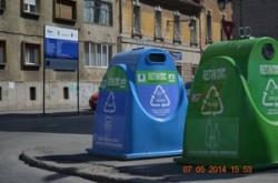 Colectarea duala in Timisoara: inca 68 de recipiente tip clopot vor fi amplasate pe strazi