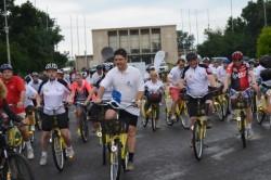 Diplomatii pedaleaza cu I'Velo pentru al treilea an consecutiv