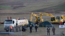 Chevron a inceput lucrarile de foraj in comuna Pungesti