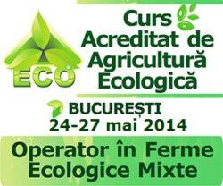 Ultimele zile de inscriere la cursul de agricultura ecologica din 24-27 mai