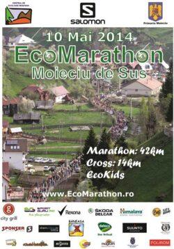"""Concursul de Alergare Montana """"EcoMarathon"""" 2014 in Moieciu de Sus"""