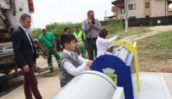 Mangalia este primul oras din sud-estul Romaniei cu sistem subteran de colectare a deseurilor