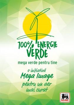 Magazinele Mega Image din Bucuresti si Ilfov folosesc 100% energie verde