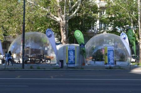 Green Revolution informeaza populatia despre poluarea aerului