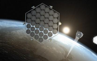 Japonezii vor sa monteze panouri solare direct in spatiu, pentru eficienta maxima