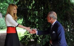 Printul Charles a discutat cu europarlamentarul Daciana Sarbu despre agricultura ecologica