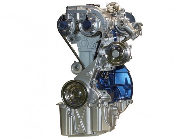 """Motorul Ford pe benzina, de 999 centimetri cubi (cmc), cunoscut sub numele 1.0 EcoBoost, a castigat titlul Motorul International al Anului 2014, acesta fiind al treilea an la rand cand marele titlu merge la Ford, pentru acelasi motor. Motorul, produs la uzinele din Koln (Germania), Craiova (Romania) si Chongqing (China) este acum disponibil in 72 de tari din toata lumea. Cea mai recenta versiune de putere a lui 1.0 EcoBoost dezvolta 140 Cai Putere (CP) si echipeaza editii speciale ale Fiesta. BMW luat doua premii (categoria 3 litri si categoria 1,6 litri), iar motorul electric al Tesla Model S a fost de asemenea premiat, fiind la jumatatea clasamentului (locul 5) – deasupra unor marci cu renume. Performanta de a castiga pentru trei ani la rand acest titlu nu a mai fost reusit de niciun producator auto pana acum. Membrii juriului au laudat motorul EcoBoost de 1 litru ca fiind """"unul dintre cele mai bune exemple de proiectare a grupului motopropulsor"""", depasind in clasament motoare provenind de la marci premium si supercar-uri. Voturile au fost date de un juriu format din 82 de jurnalisti auto, din 35 de tari. Pe langa premiul cel mare, acest propulsor a castigat, evident, si titlul pentru cel mai bun motor cu o capacitate cilindrica de sub 1 litru. """"Competitia de anul acesta a fost cea mai stransa de pana acum, dar motorul EcoBoost de 1 litru continua sa iasa in evidenta din toate punctele de vedere importante: rafinament, flexibilitate surprinzatoare si eficienta excelenta"""", a declarat Dean Slavnich, copresedinte al celei de-a 16-a editii a premiilor Motorul International al Anului si redactor al revistei Engine Technology International. Lansat in Europa in anul 2012 pe Ford Focus, motorul EcoBoost de 1 litru este acum disponibil pe alte noua modele: Fiesta, B-MAX, EcoSport, C-MAX si Grand C-MAX, Tourneo Connect, Tourneo Courier, Transit Connect si Transit Courier. """"Noul Mondeo va continua implementarea europeana a motorului EcoBoost de 1 litru odata cu lansarea aces"""