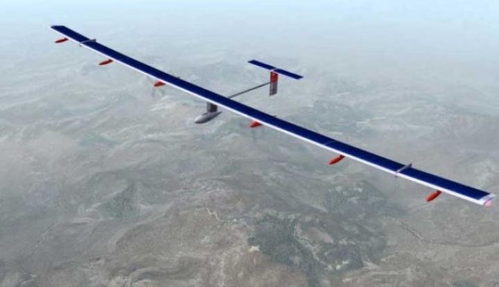 Primul zbor al unui AVION SOLAR care va inconjura Terra