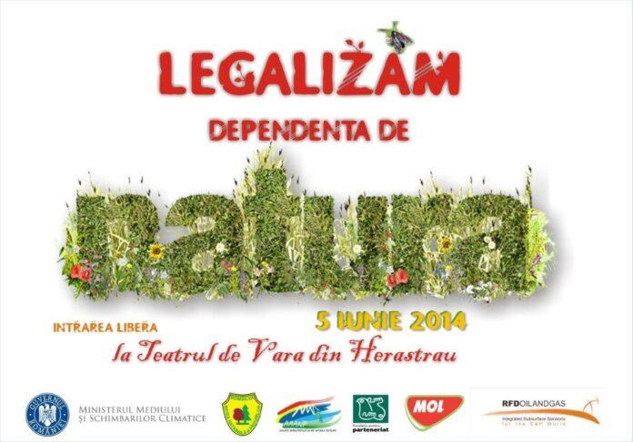 """Campanie""""Legalizam dependenta de natura"""""""