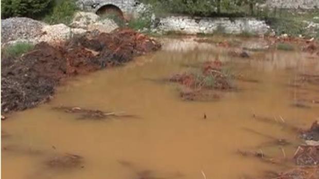Apele Oltului Superior sunt contaminate cu metale grele de la mina B?lan