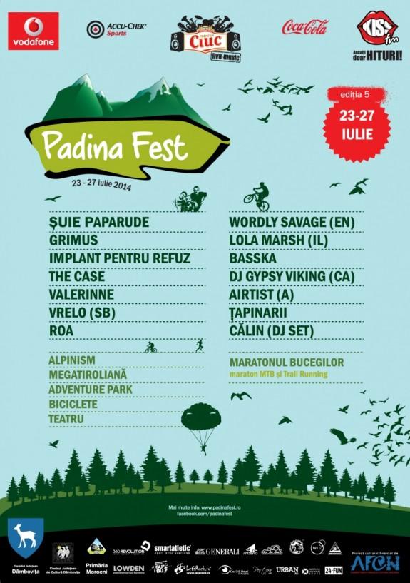 Padina Fest – a cincea edi?ie de munte, sport, aventur? ?i muzic? bun?