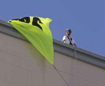 """Activi?tii Greenpeace cer liderilor UE s? """"conecteze Europa la energia regenerabil?"""""""
