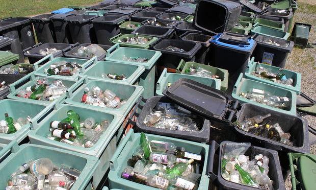 Doar 20% din de?eurile de sticl? sunt reciclate în România