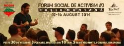 Forumul Social de Activism Rosia Montana (#RMForum)
