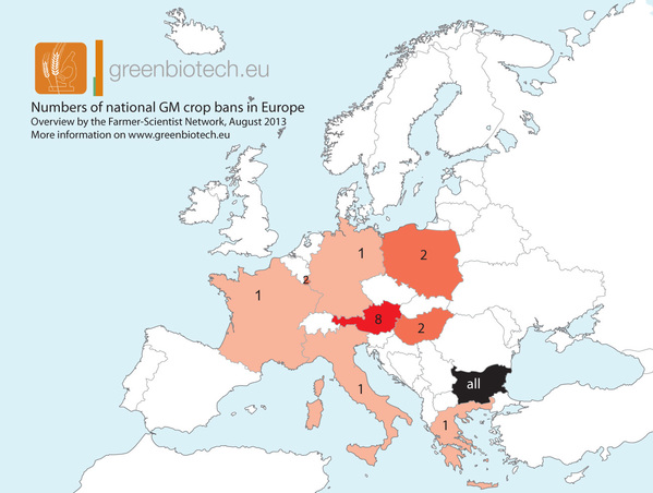 Modificarea Directivei privind posibilitatea statelor membre de a interzice cultivarea OMG