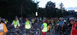 Marsul biciclistilor – editia de noapte