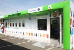 Statii inteligente de colectare selectiva in parcarile Carrefour Baneasa si Vitantis
