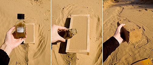 Eco c?r?mizi din nisip