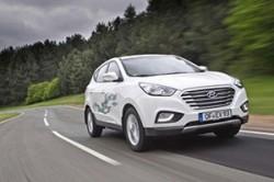 Hyundai ix35 Fuel Cell a doborat recordul pentru cea mai lunga calatorie cu un singur rezervor de hidrogen
