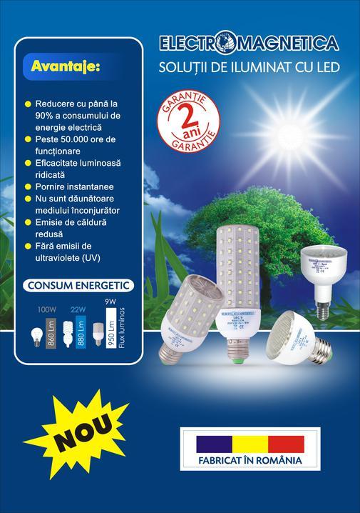 Becurile cu LED-uri, campioanele economisirii de energie