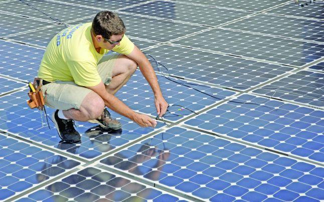 Investi?ie de peste 20 mil. dolari în parcuri solare
