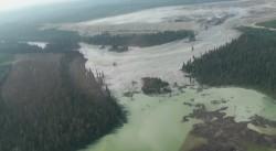 Dezastru ecologic in Canada, la o mina de aur: Milioane de tone de apa toxica, revarsate