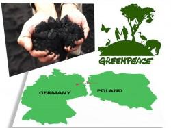 Lant uman impotriva carbunelui, la granita dintre Germania si Polonia