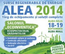 Targul ALEA la Alba Iulia. Ora de inventica pentru liceeni si eco-serbare cu peste 100 de prescolari