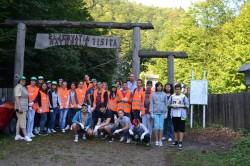 """Membrii proiectului """"O viata mai verde"""" au fost in excursie """"de invatare"""" pe Cheile Tisitei"""