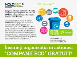 "Actiunea ecologica ""Companii ECO"" a fost relansata"