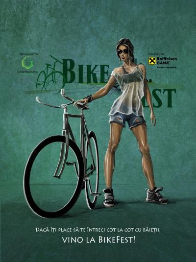 BikeFest 2014: Dou? zile dedicate Biciclistului Urban