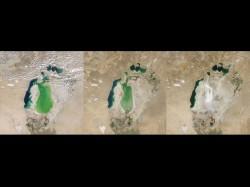 Dezastru ecologic: Marea Aral practic a disparut