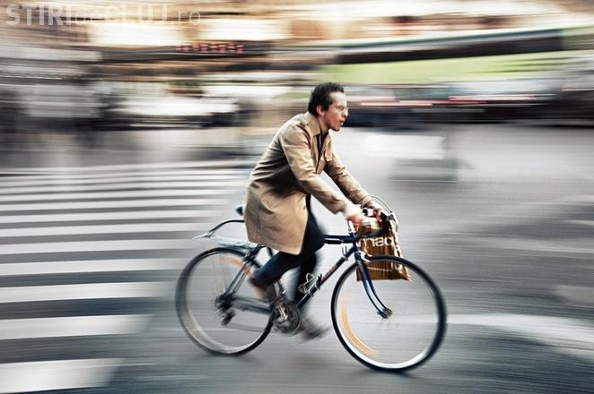 Cei care merg la serviciu cu bicicleta sunt mai ferici?i