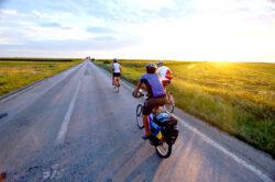 """Turul Dunarii 2014"", 400 de kilometri pe bicicleta"