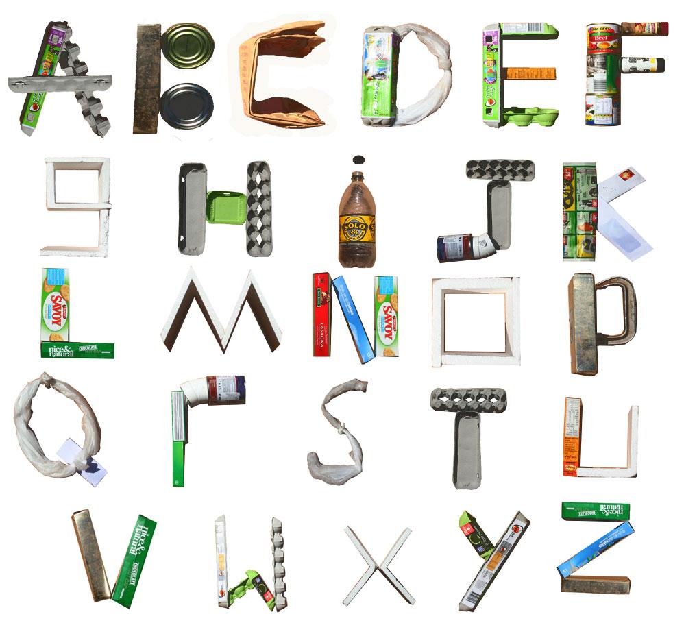Alfabetul reciclarii