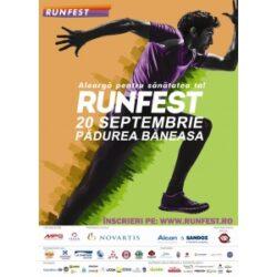 RUNFEST 2014 - Alearga pentru sanatatea ta!