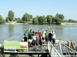 Turul Dunarii pe bicicleta a ajuns la final