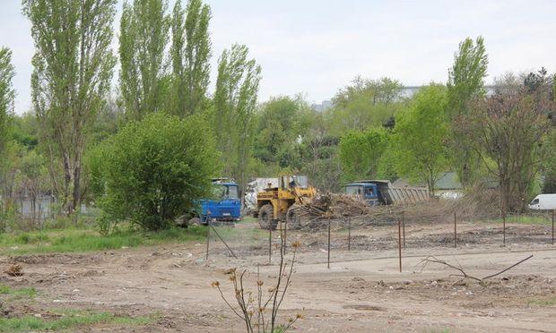 Instan?a a suspendat contractul care prevedea construirea unui aqua land în Parcul Tineretului
