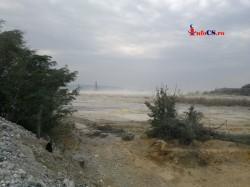 Din nou poluare cu nisip industrial la Moldova Noua