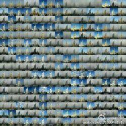 Vezi nivelul incredibil de poluare din Beijing. Un barbat a fotografiat timp de un an aceeasi cladire
