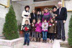 """Vineri, 28 noiembrie, la ora 10, micii ecologisti ai Gradinitei nr. 6 au amenajat """"Coltul Eco"""" la Agentia pentru Protectia Mediului Satu Mare"""