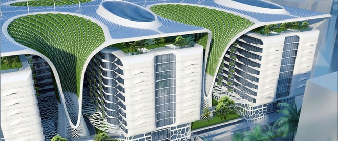 Cartierul verde din capitala Egiptului
