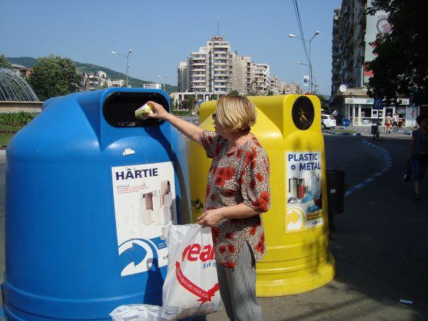 A fost lansat serviciul de calcul a emisiilor de gaze cu efect de ser? reduse prin reciclare
