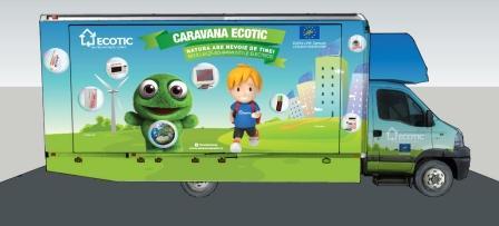 Caravana Ecotic vine în Vrancea